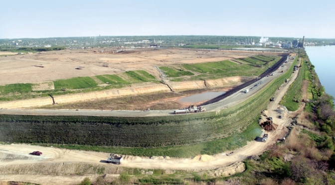 Sevenson's Cherry Island Landfill project finalist for American Society of Civil Engineers' award