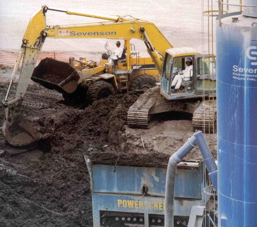 Manufactured Gas Plant Remediation at Sevenson