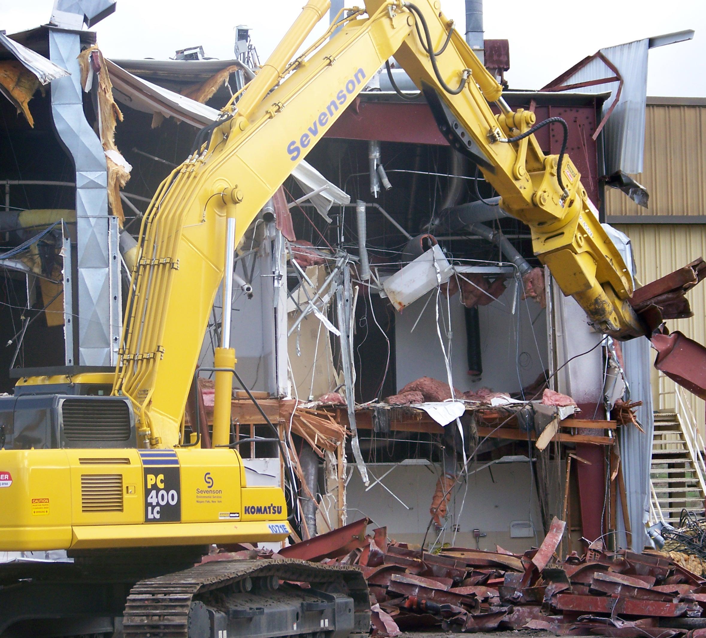 Decontamination & Demolition at Sevenson