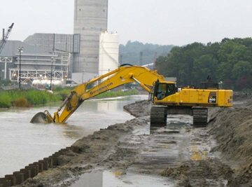 Emory River Dredging and Dewatering