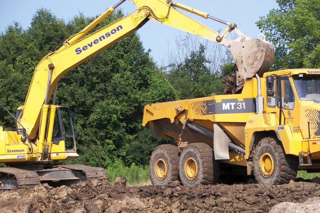 Excavation & Earthwork Services at Sevenson