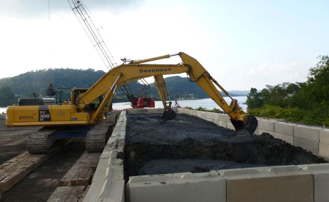Coal Tar Plant Sediment Remediation