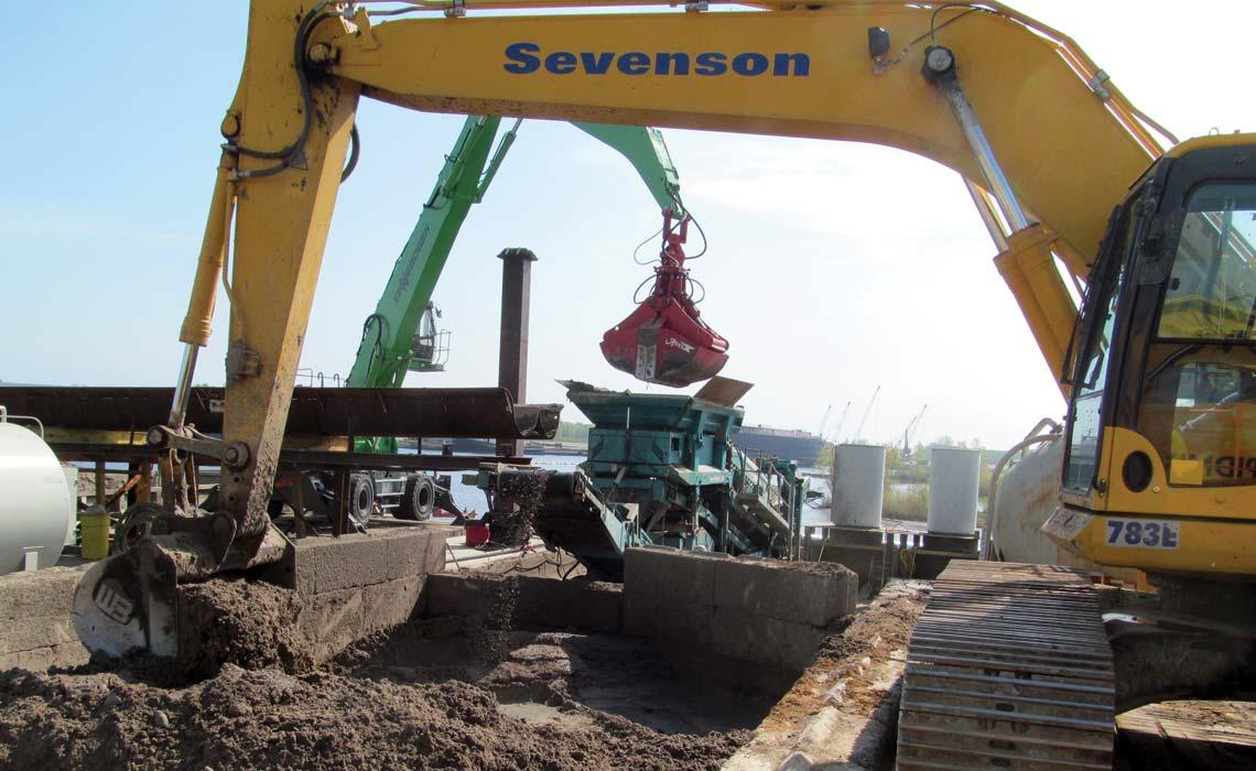Menominee River Sediment Removal