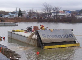 Silver Lake Pilot Study Sediment Capping Project