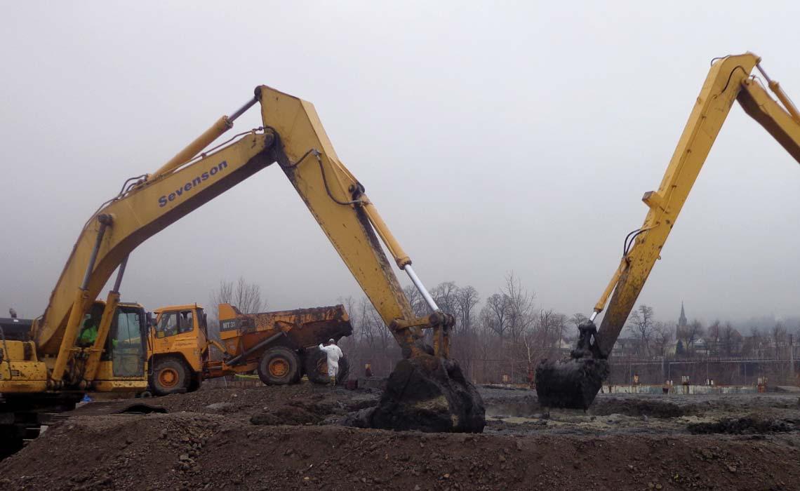 Former Plant Site Remediation