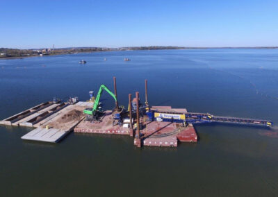 Onondaga Lake Superfund Site Dredging and Capping Services