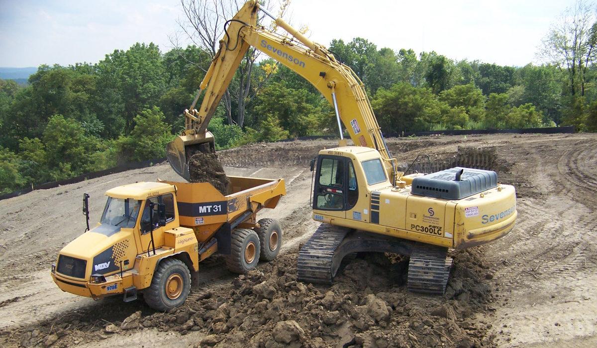 Excavation by Sevenson