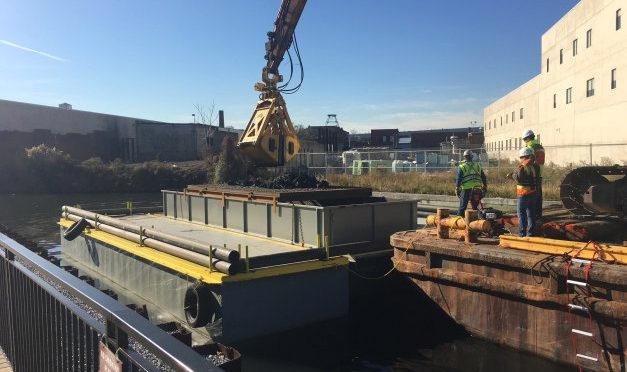 Sevenson Completes Gowanus Canal Pilot Project