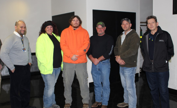 "Sevenson Employees Receive ""GM Life Saving Award"""