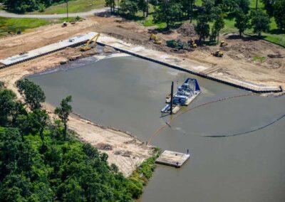 Bayou d'Inde/Lower Canal Sediment Remediation