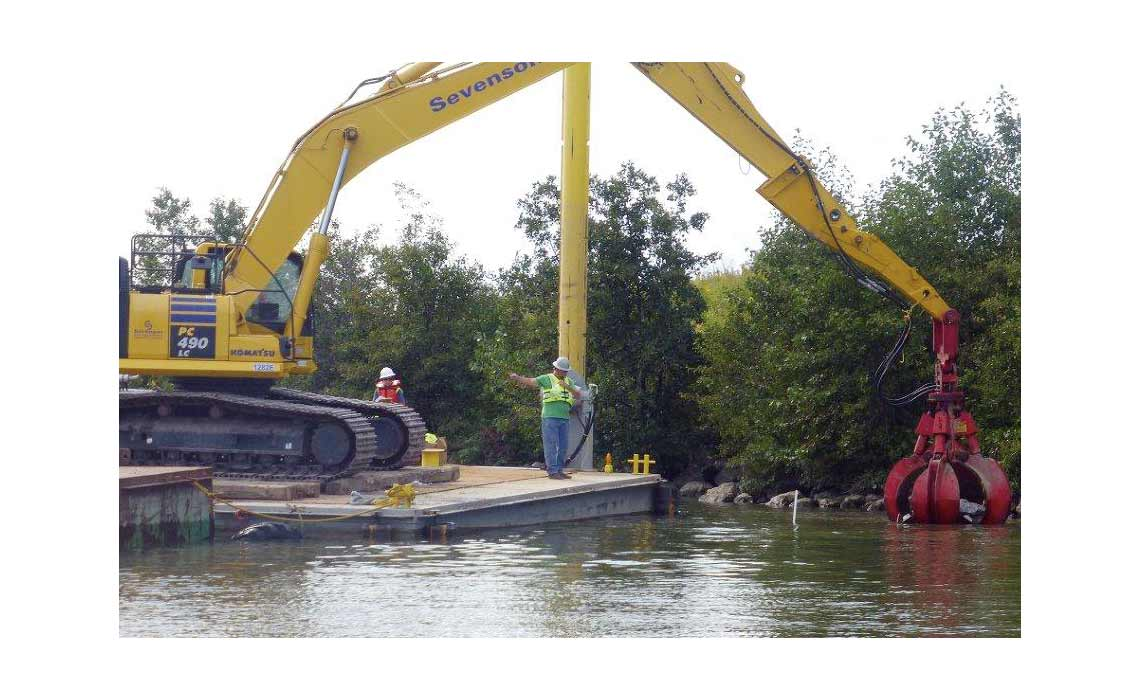 Buffalo River Sediment Dredging and Habitat Restoration