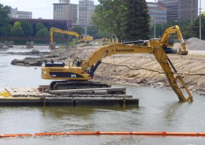 Flint River Sediment Remediation East Boulevard Former MGP Site