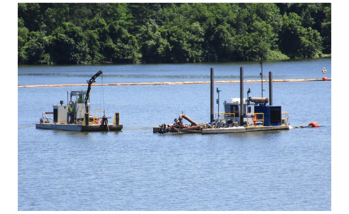Sediment Remediation Acid Brook Delta Dredging and Dewatering