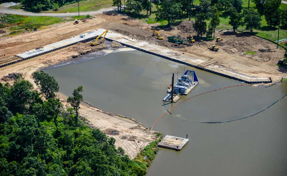 Bayou d'Inde/Lower Canal Sediment Remediation