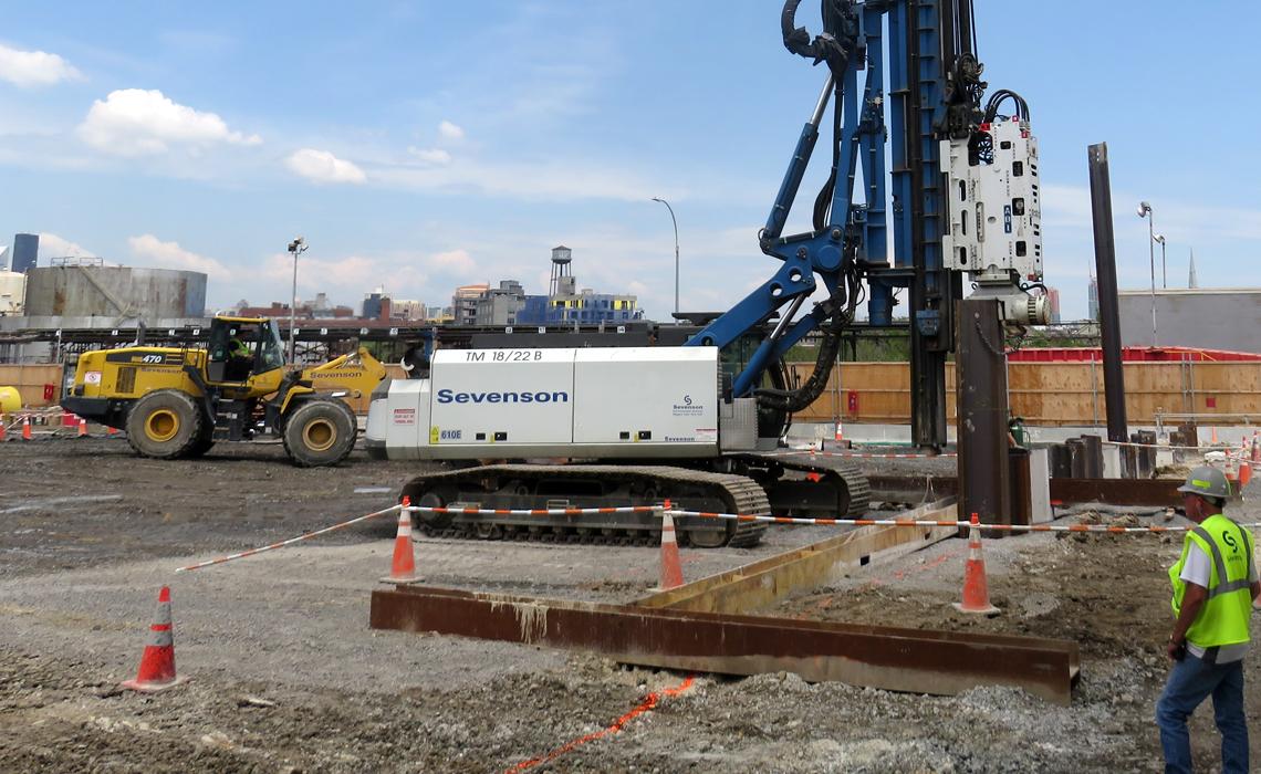 Former Williamsburg Site - Sevenson Dredging Project