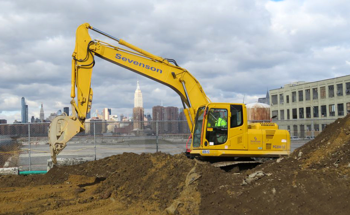 Former Williamsburg Works MGP Site - Sevenson Excavation Project