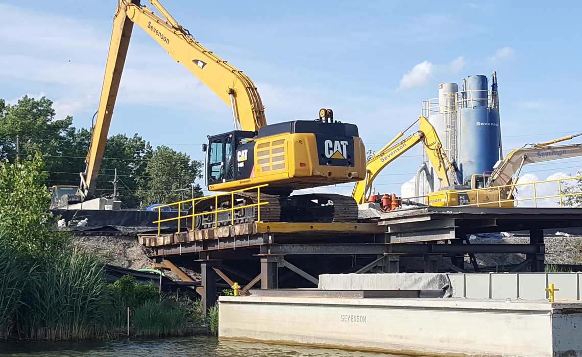 River Raisin Area of Concern NAPL Area Sediment Dredging and Capping