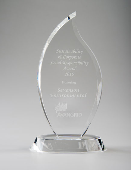Sustainability & Corporate Sustainability Award for Sevenson, 2016