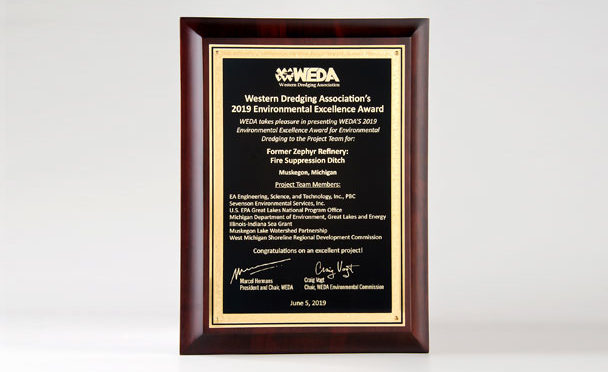 Sevenson Honored at the WEDA Annual Meeting with 2019 Excellence Award