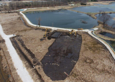 Former Zephyr Oil Refinery Site – Fire Suppression Ditch Area Remediation