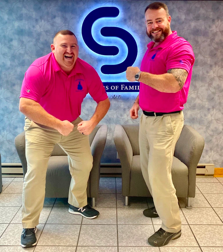 Sevenson goes Pink for National Breast Cancer Awareness Month