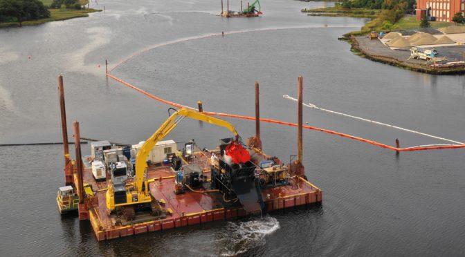 New Bedford Harbor Superfund Site featured in World Dredging