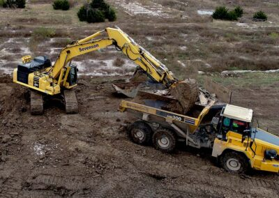 Former Sunflower Army Ammunition Plant Contaminated Pipe Removal