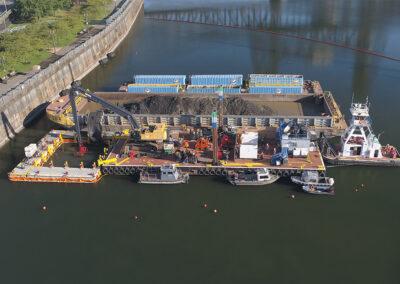 Former Portland Gas Manufacturing (PGM) Site Remediation