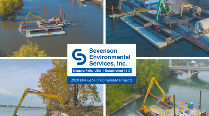 Sevenson Environmental completes two Great Lakes Legacy Act (GLLA) remediation projects in Michigan