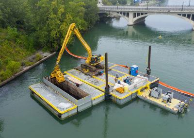 Detroit Riverwalk Sediment Remediation