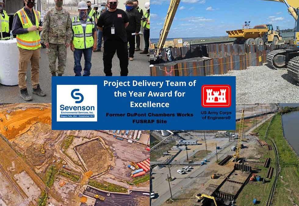 Sevenson Team Wins USACE Project of the Year